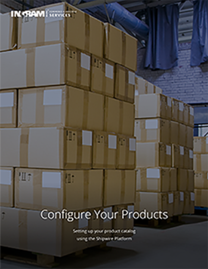 Configuring your products - Order fulfillment guide