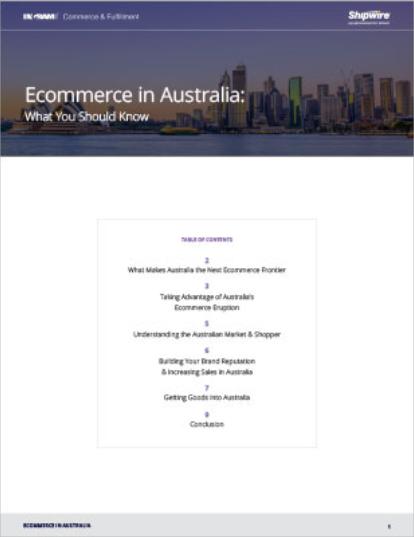Australian ecommerce guide
